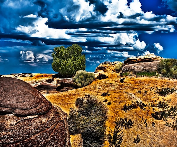 Bisti Badlands 3 - Art of New Mexico Print By Christopher Gatelock