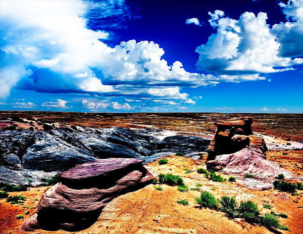 Bisti Badlands 4 - Art of New Mexico Print By Christopher Gatelock