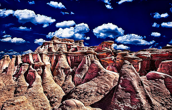 Bisti Badlands 6 - Art of New Mexico Print By Christopher Gatelock