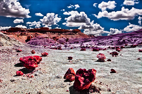 Bisti Badlands 5 - Art of New Mexico Print By Christopher Gatelock