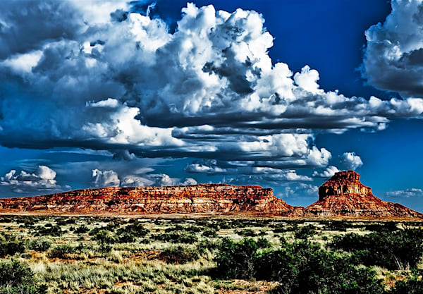 Chaco Canyon 1 - Art of New Mexico Print By Christopher Gatelock