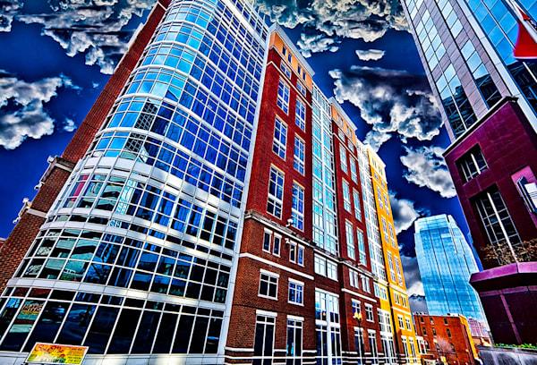 Downtown Nashville 4 - Nashville,TN Print By Christopher Gatelock