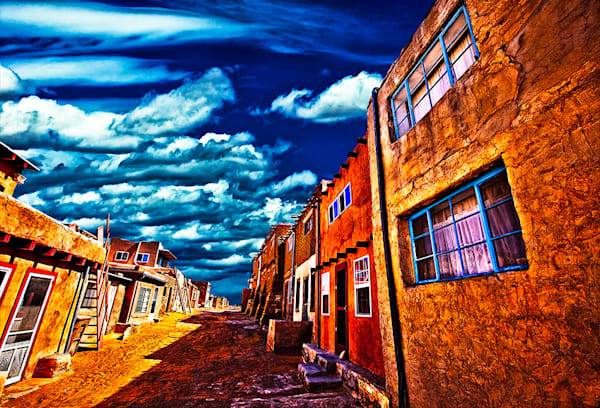 Acoma Pueblo 1 - New Mexico Pueblo Print By Christopher Gatelock