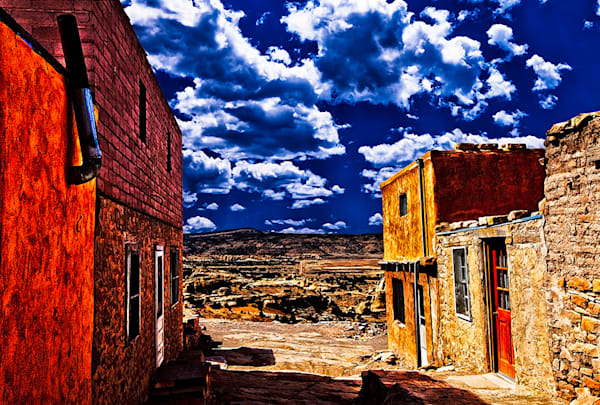 Acoma Pueblo 2 - New Mexico Pueblo Print By Christopher Gatelock