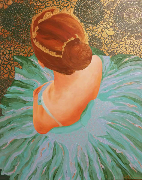 Young Ballerina Shoulders   Le Art   TAVolgenau