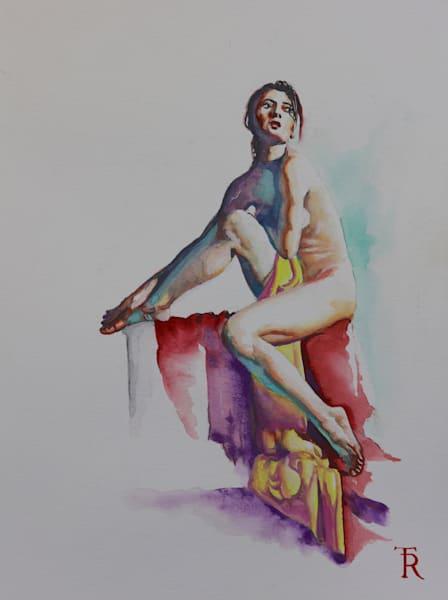 Watercolor Study 0498 Art | Tomasz Rut Fine Art, LLC