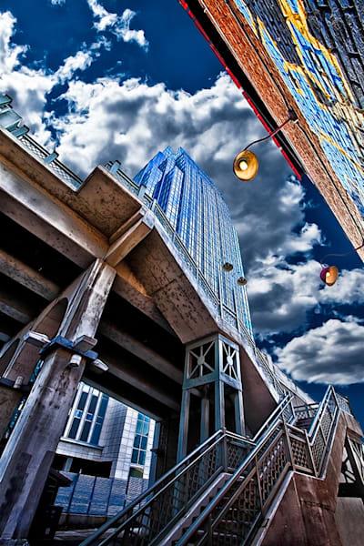 Downtown Nashville 3 - Nashville,TN Print By Christopher Gatelock