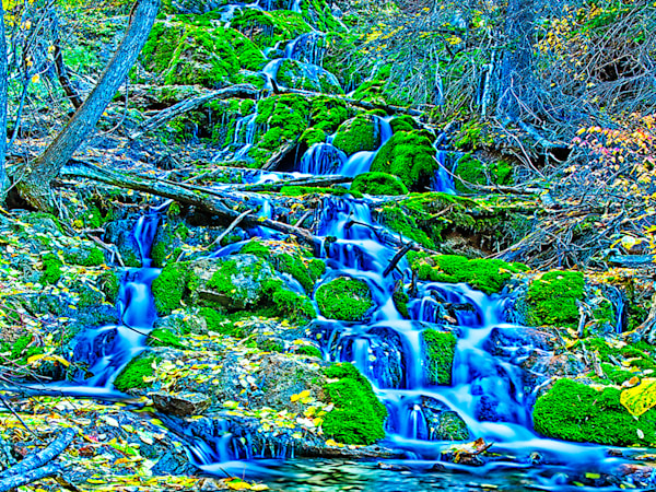 By Hanging Lake 2 - Art of Colorado Print By Christopher Gatelock