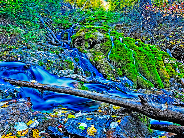 By Hanging Lake 1 - Art of Colorado Print By Christopher Gatelock