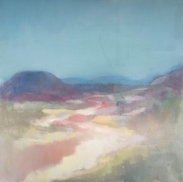 Morning Walk In The Desert Art | Peg Connery-Boyd Artwork