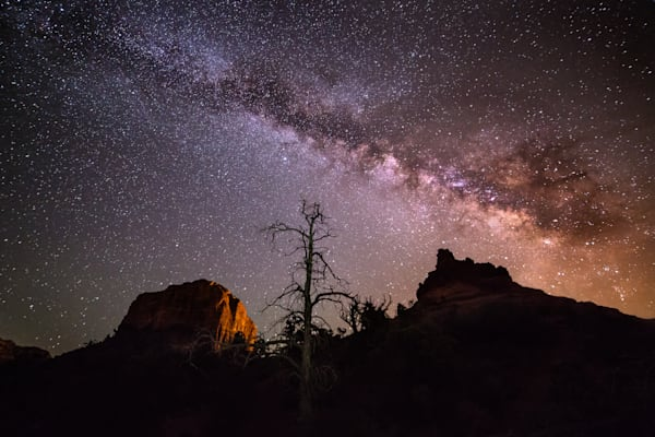 Milky Way over Sedona