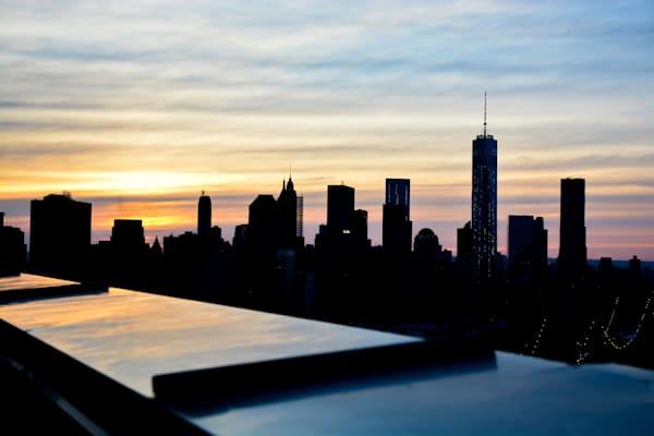 NY Downtown Skyline 1