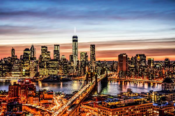 NY Downtown Skyline II