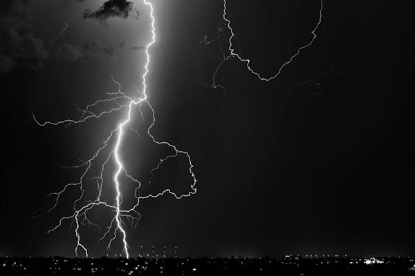 Lightning over Phoenix