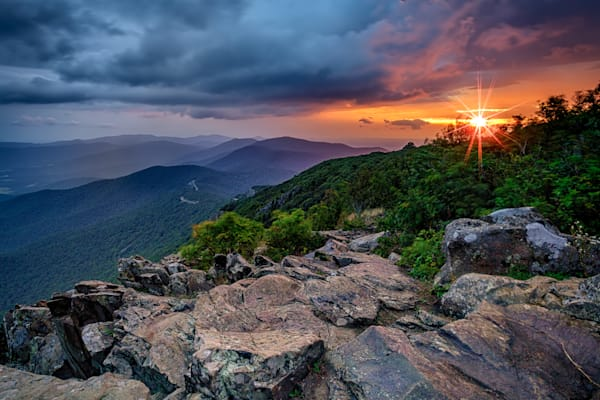 Sunrise on Stony Man Mountain | Shop Photography by Rick Berk