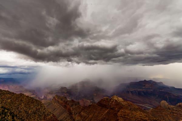 Rain at the Canyon