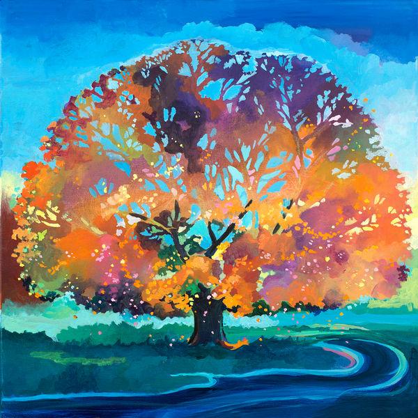 Oak Tree Fine Art Print