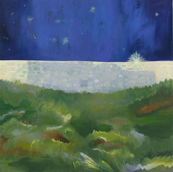 Stars In Griffith Park Art by Trine Churchill