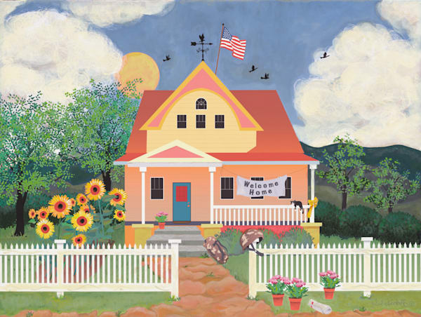 A Soilder's Welcome Home Art | Julie Pace Hoff Gallery
