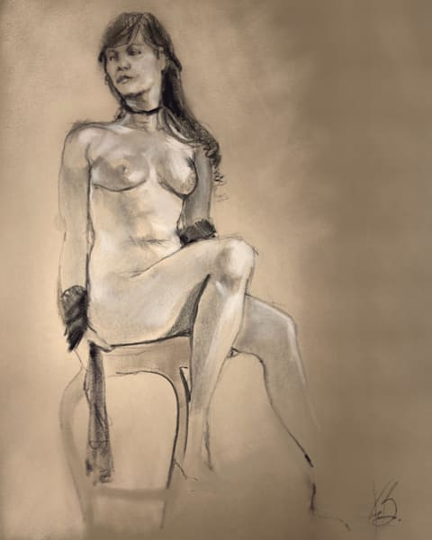 Kelly Bandalos / Figure Sketch 1058