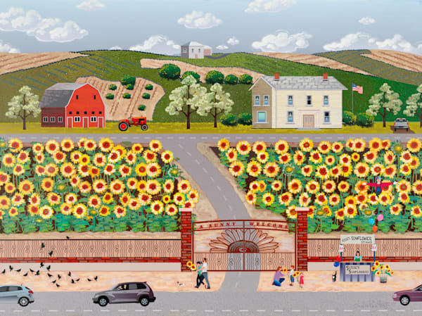 Sunflower Farm Art | Julie Pace Hoff Gallery