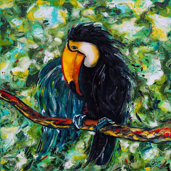 Tucano Painting | Fer Caggiano Art