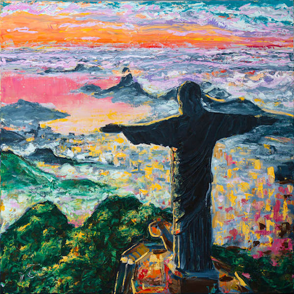 Rio de Janeiro Painting | Fer Caggiano Art