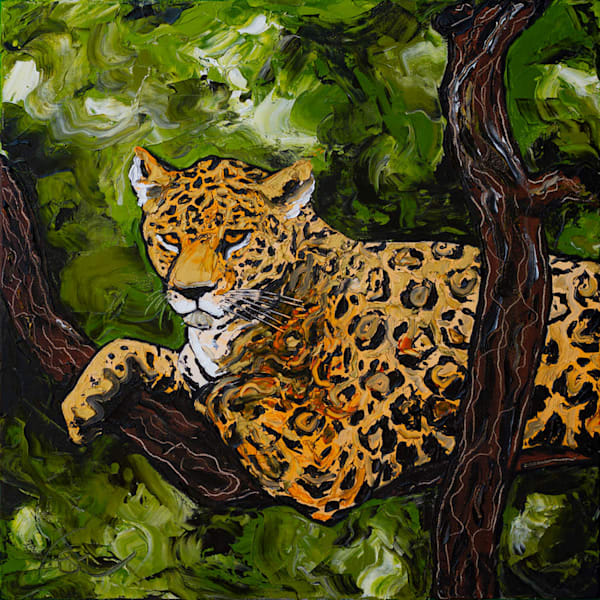 Onça Pintada Jaguar Painting | Fer Caggiano Art