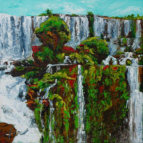 Iguazu Falls Painting | Fer Caggiano Art