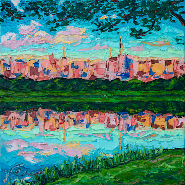 Parque do Ibirapuera Painting | Fer Caggiano Art