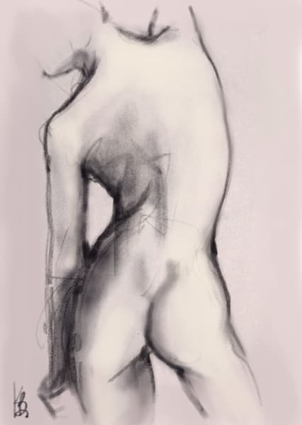 Kelly Bandalos / Figure Sketch 1054