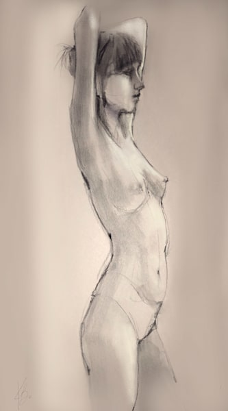 Kelly Bandalos / Figure Sketch 1064