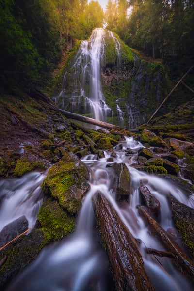 'Streams & Falls' Photograph by Jess Santos for sale as Fine Art