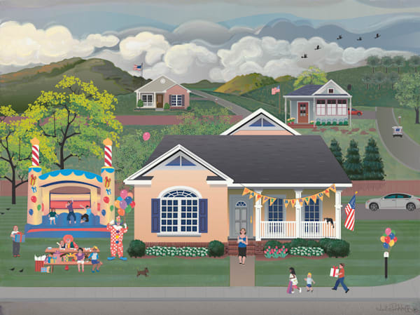 Bouncy House Birthday