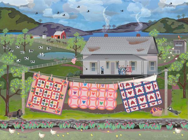 American Royal Family Art   Julie Pace Hoff Gallery