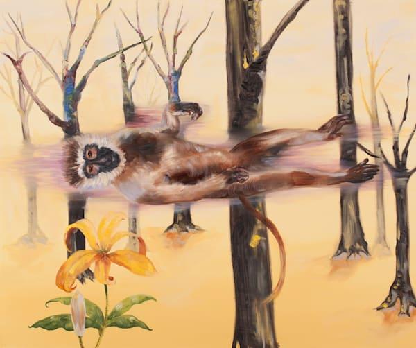 Floating Monkey Art | Trine Churchill
