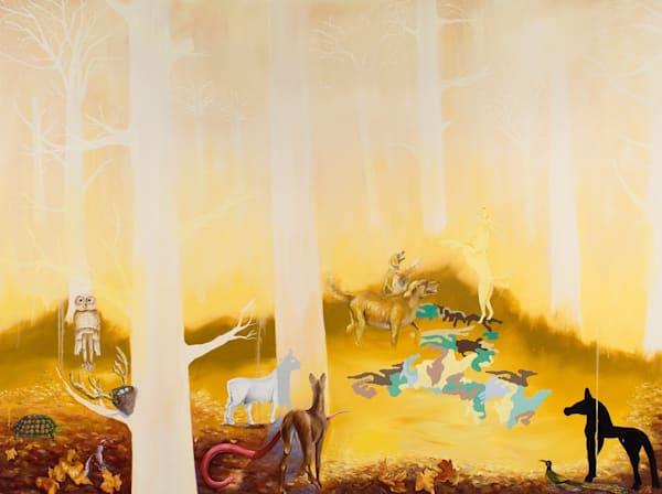 One September In The Virgin Forest Art | Trine Churchill