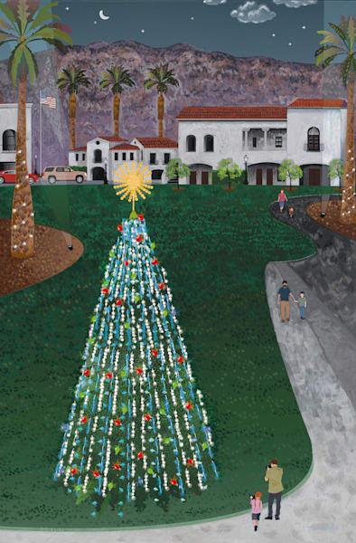 La Quinta Old Town Christmas Art   Julie Pace Hoff Gallery