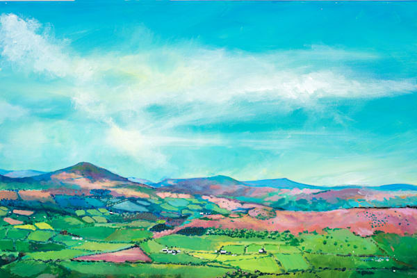Sugarloaf Original Painting Brecon Beacons