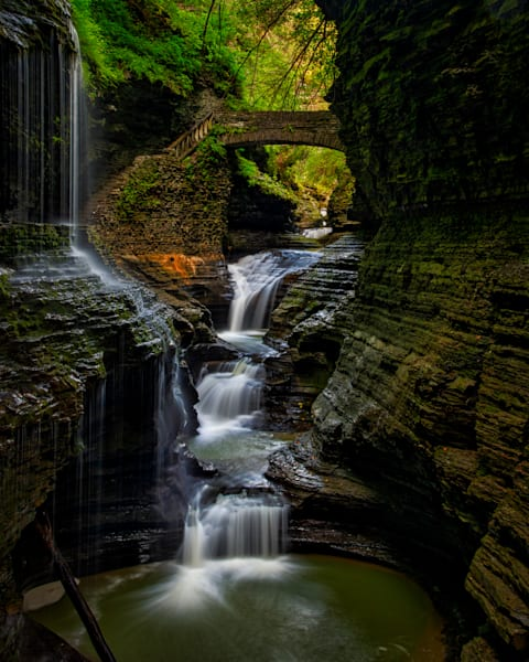 Watkins Glen Gorge photography prints