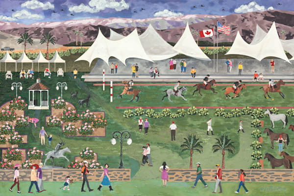 Empire Polo Match Art   Julie Pace Hoff Gallery