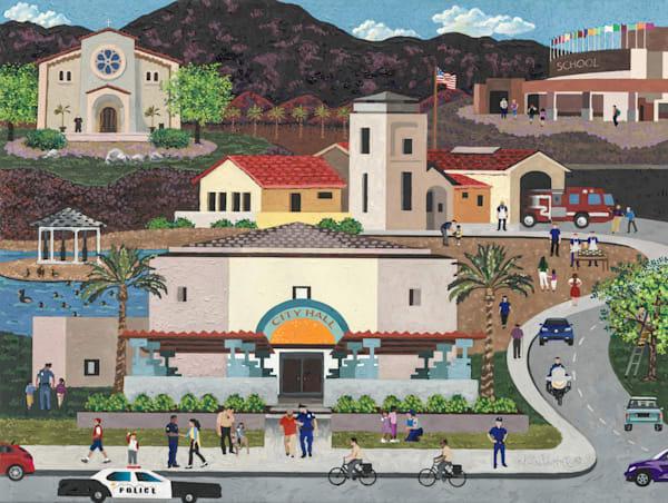 Local Heros Art   Julie Pace Hoff Gallery