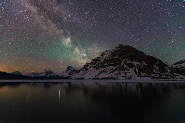 Bow Lake Nightscape Photography Art | Will Nourse Photography