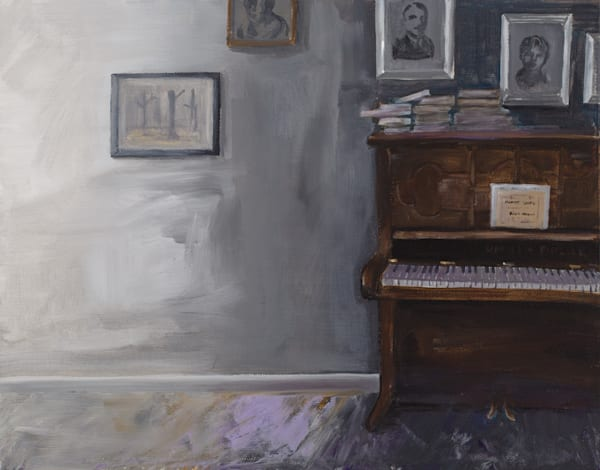 Piano In The Night Art | Trine Churchill