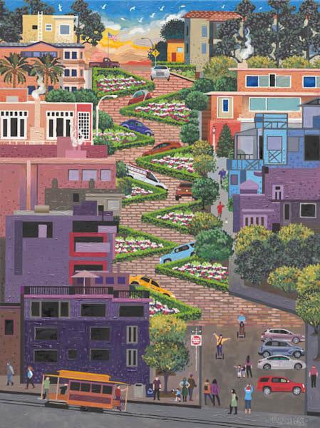 Lombard Street Art   Julie Pace Hoff Gallery