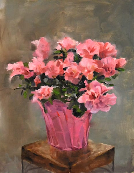 """Azaleas"" Art 