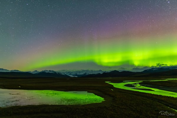 Maclaren River Valley Aurora Photography Art | Ray Bulson Photography