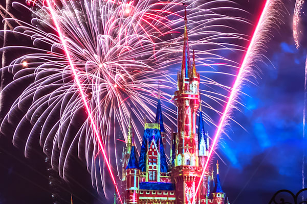 Happily Ever After 43 - Disney Castle Art - William Drew Photography