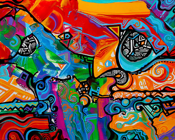 Maui Art Gallery Abstract Artwork