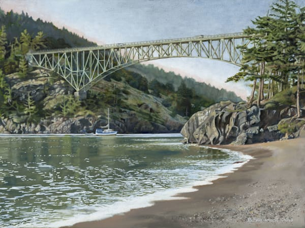 Barb Schwulst - Deception Pass